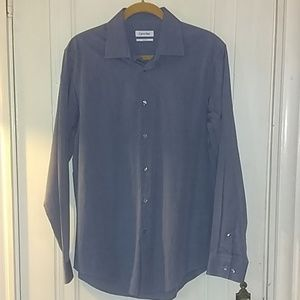 Calvin Klein Slim Fit Button Up Top